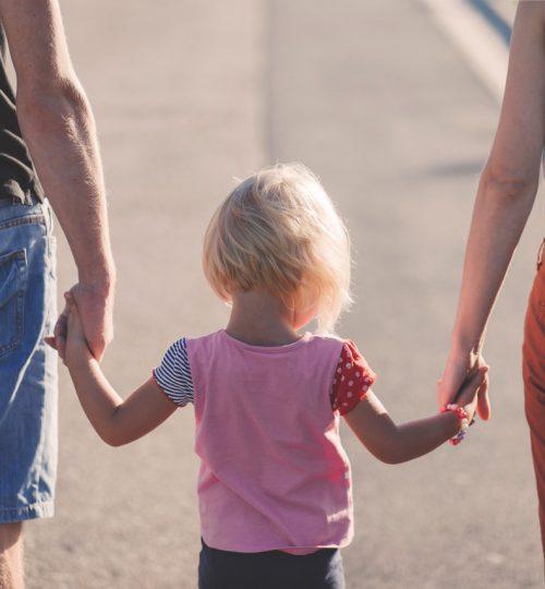 baby-wearing-pink-crew-neck-cap-sleeve-shirt-between-2-173666